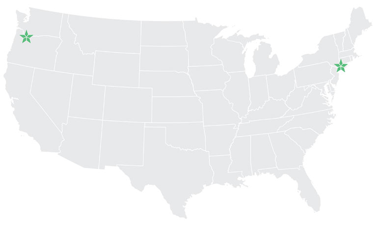 Brooklinen's contact centers in the United States