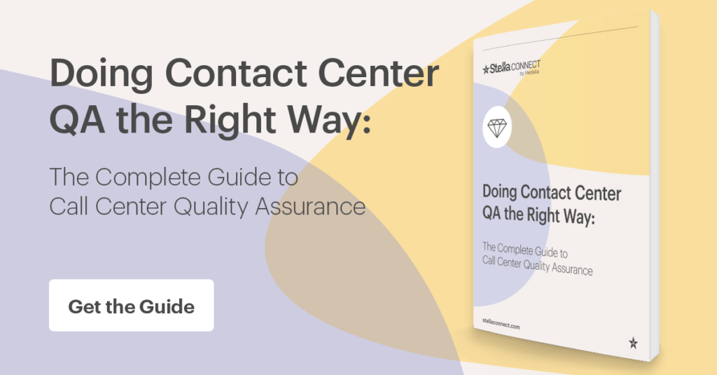 Get the ultimate guide to customer service quality assurance today.